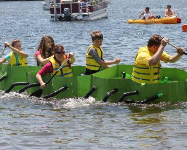 Florida's Cardboard Boat Race