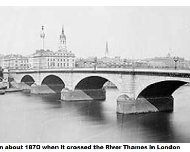 Where is London Bridge? Well, it ain't in London.