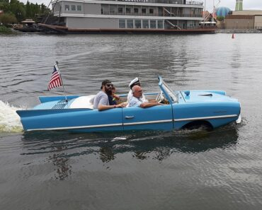 The Amphicar 770 and the Hilarious Prankster President