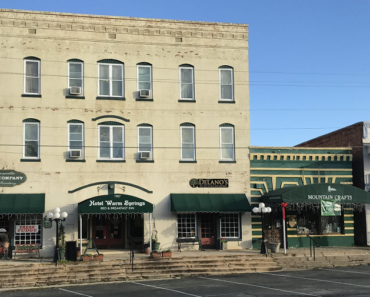 The Scary Haunted Hotel Warm Springs