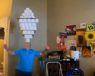 David Rush Breaks Toilet Paper Guinness World Record – Watch Video!