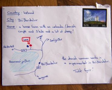 """""""Anything Is Possible In Iceland"""" – Post Delivered with No Name – No Address"""